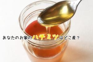 ハチミツ 選び方